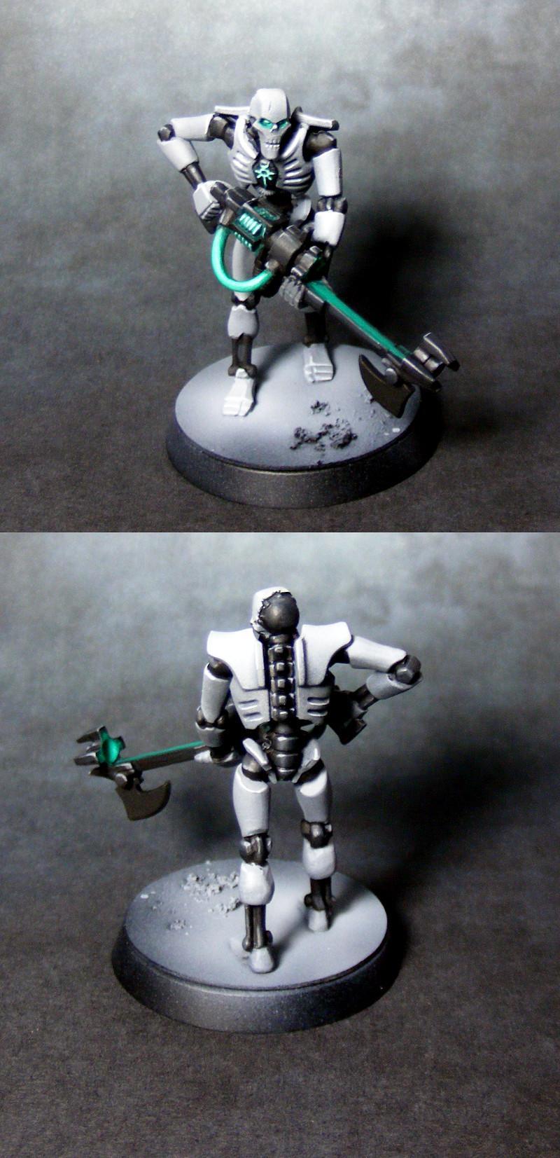 Necron warrior scheme test PIP