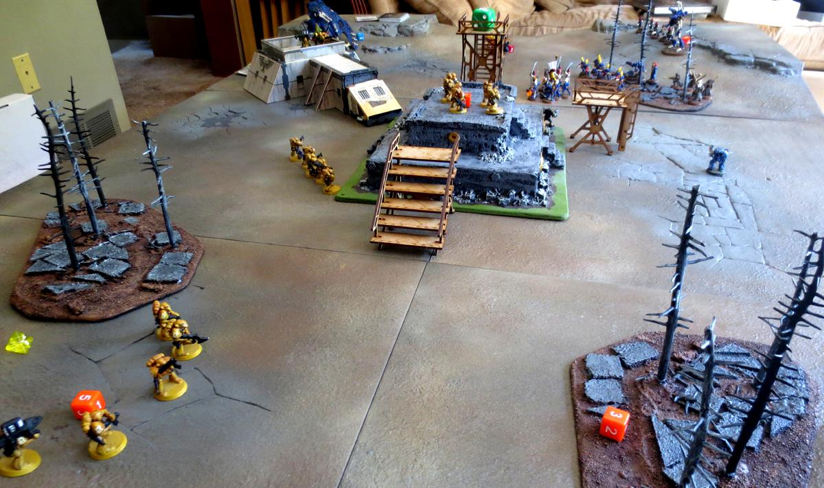 Battle Report, Battle Reports 40k