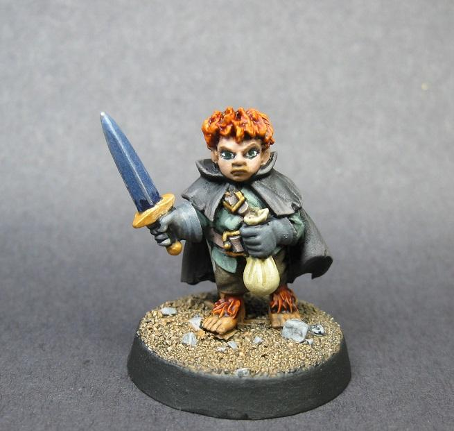 07004: Stitch Thimbletoe, D, Dark Heaven Legends, Halfling Thief, Painted Reaper Miniature, Reaper Minis, Reaper Painted Miniature, Rpg Miniature