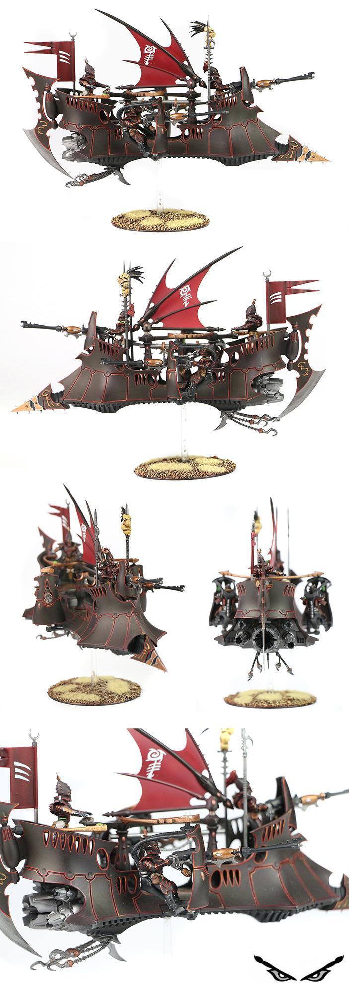 Dark Eldar, Drukhari, Ravager, Warhammer 40,000