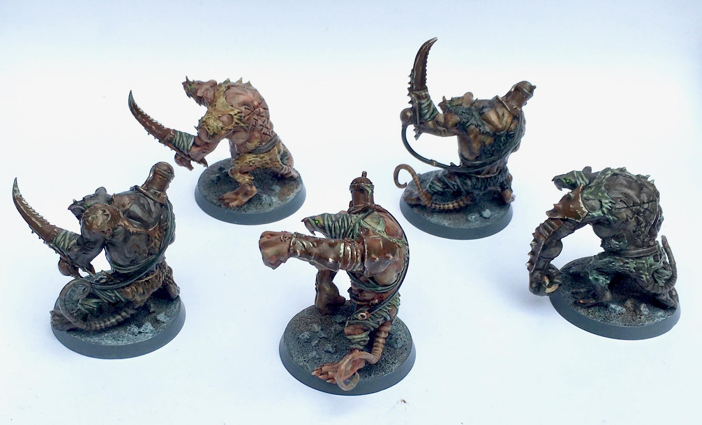 Chaos Spawn, Death Guard, Nurgle, Rat Ogres, Skaven