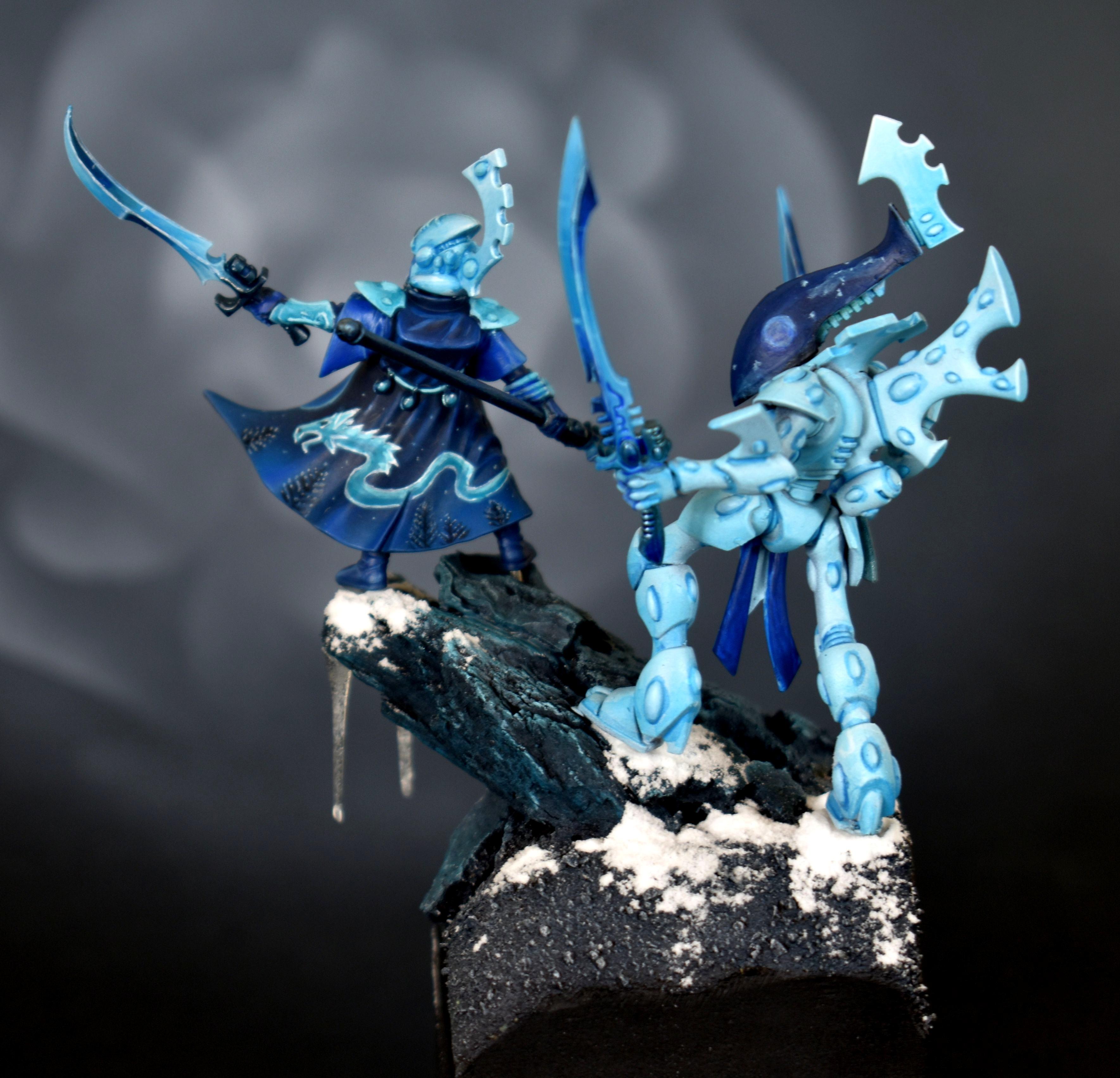 Blue, Farseer, Ice, Monochrome, Snow, Winter