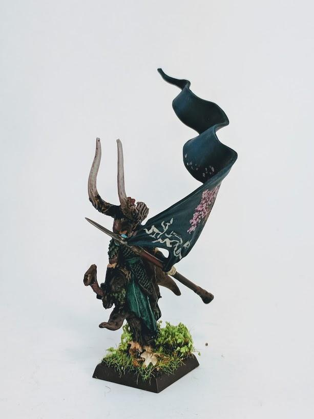 Aelf, Standard Bearer, Wood Elves