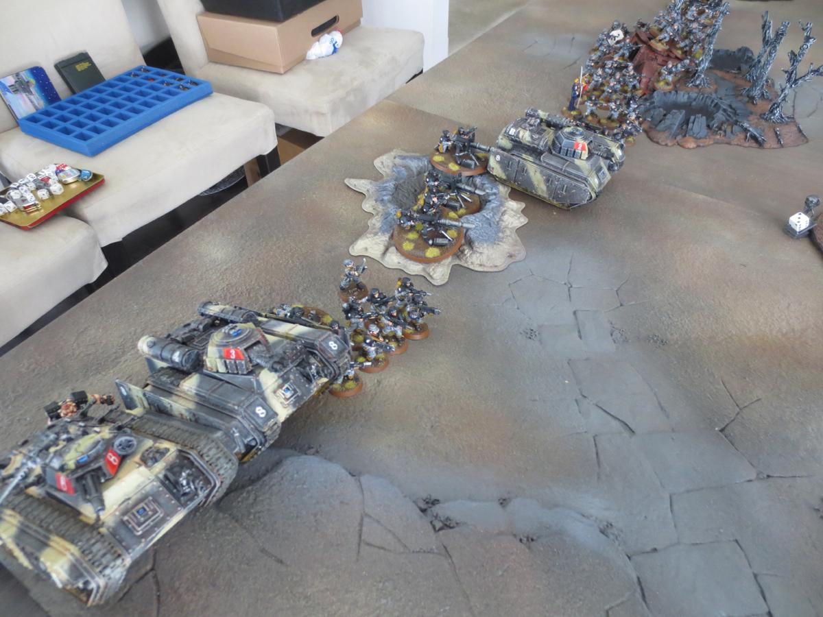 Battle Report, Imperial Guard, Orks, Space Marines