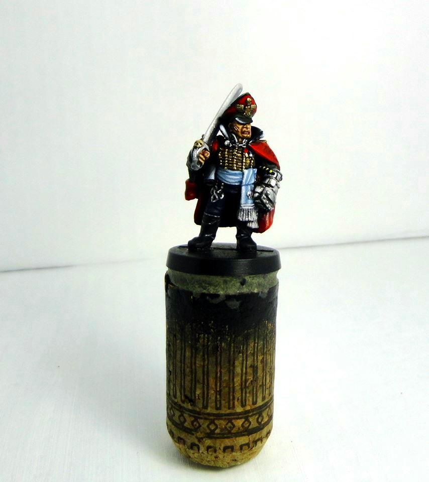 Astra Militarum, Imperial Commissar, Imperial Guard, Metal, Power Fist, Power Sword