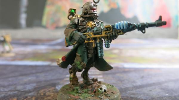 Vanguard POINTING ARM 40K Adeptus Mechanicus Skitarii Rangers