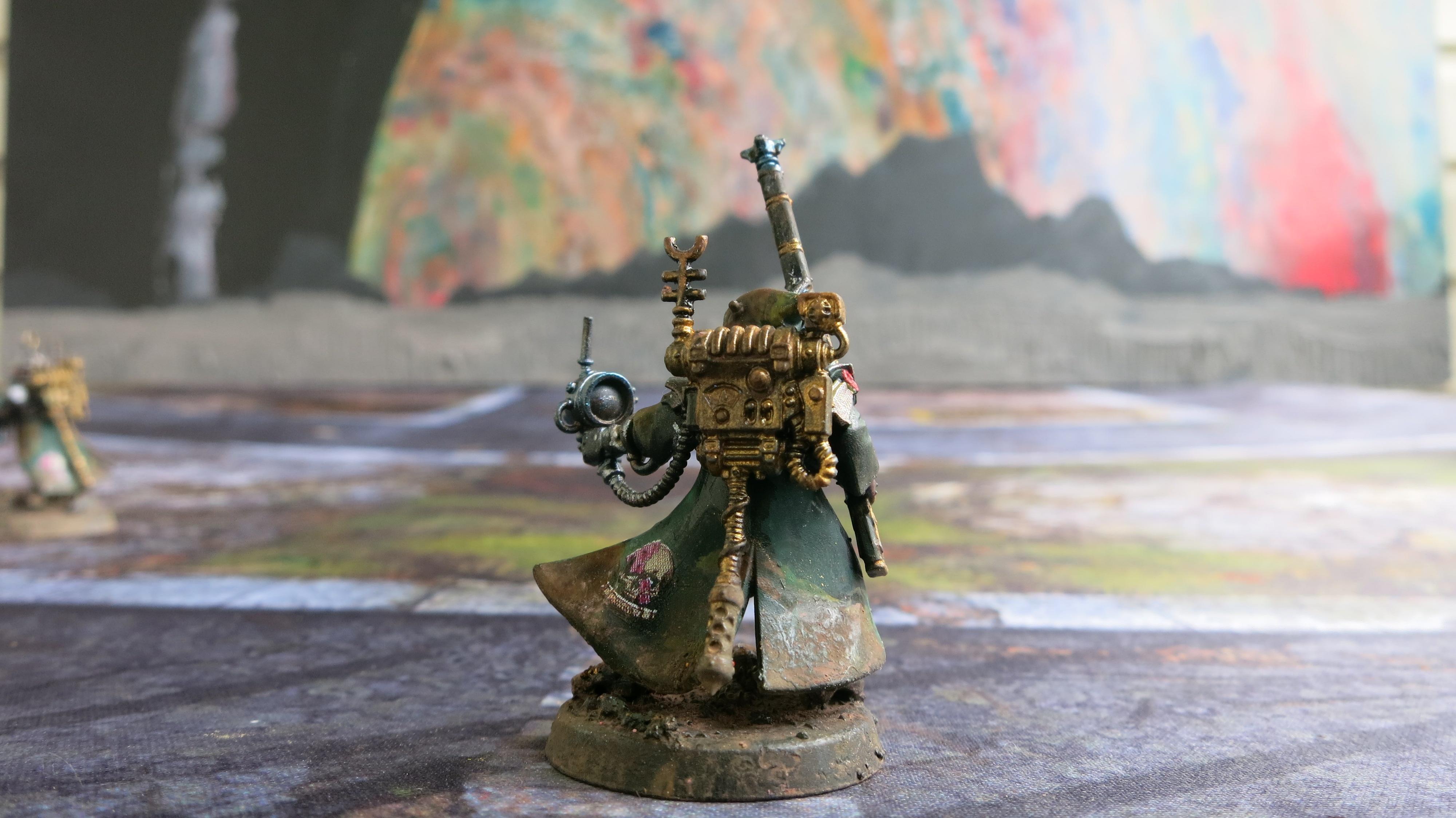 Adeptus Mechanicus, Admech, Galvanic Rifle, Omni-spec, Omnispex, Rangers, Skitarri