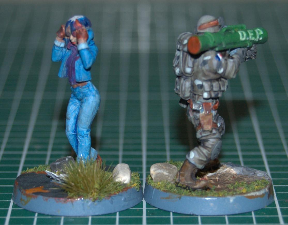 Civilian, Hasslefree Miniatures, Modern, Trooper, Vip