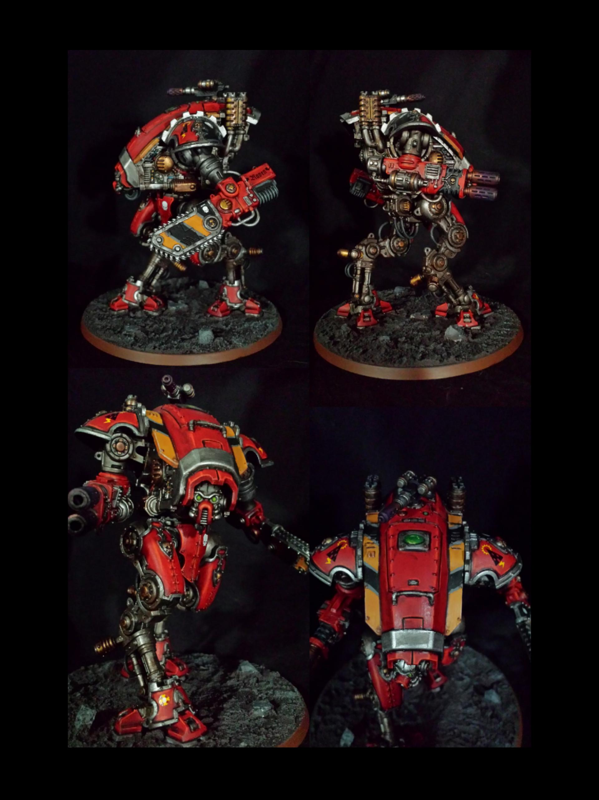 Armiger Warglaive, Imperial Knight, Mechanicus