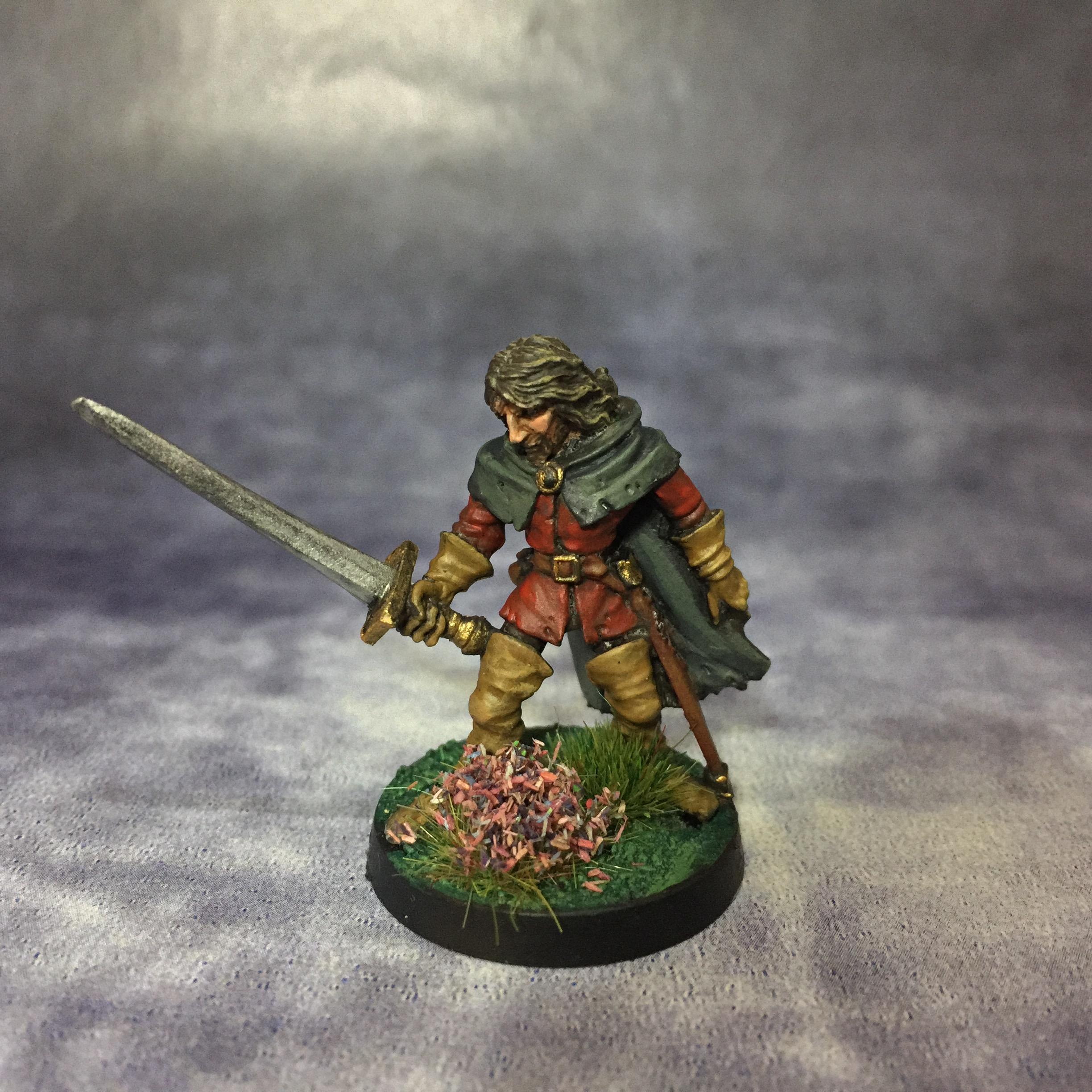 Aragorn, Citadel, Elves, Games Workshop, Jes Goodwin, Lord Of The Rings, May 2018, Oldhammer
