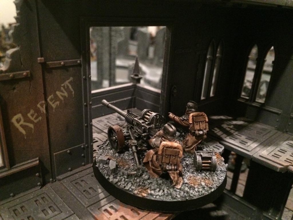 Bolter, Death, Death Korps of Krieg, Guard, Heavy, Imperial, Korps