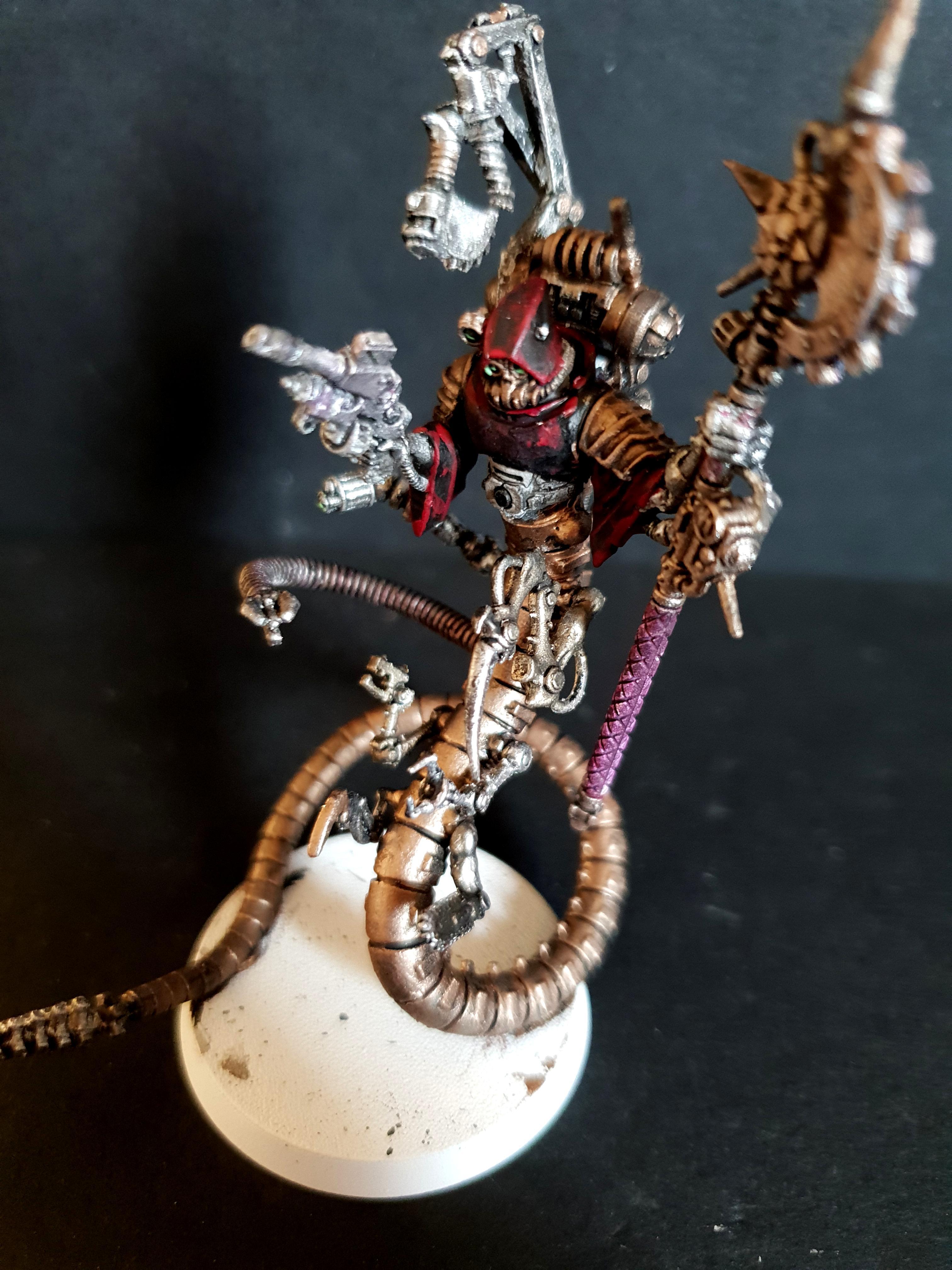 Chaos, Conversion, Magos, Mechanicus, Pip, Serpentine, Warhammer 40,000, Work In Progress