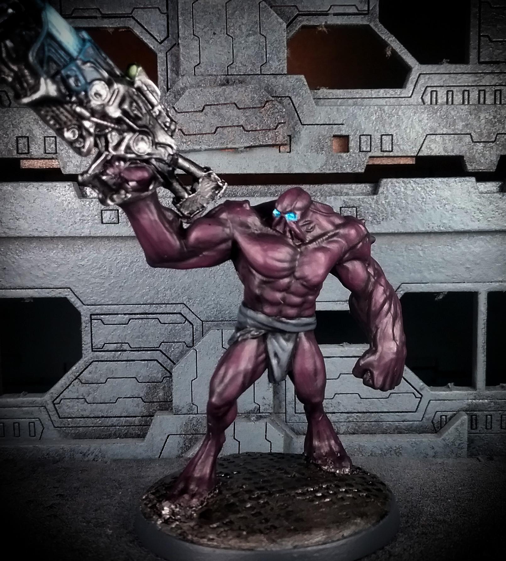 Brute, Dark Legion, Mutant, Ogryns, Razide, Warzone, Warzone: Mutant Chronicles, Warzone: Resurrection