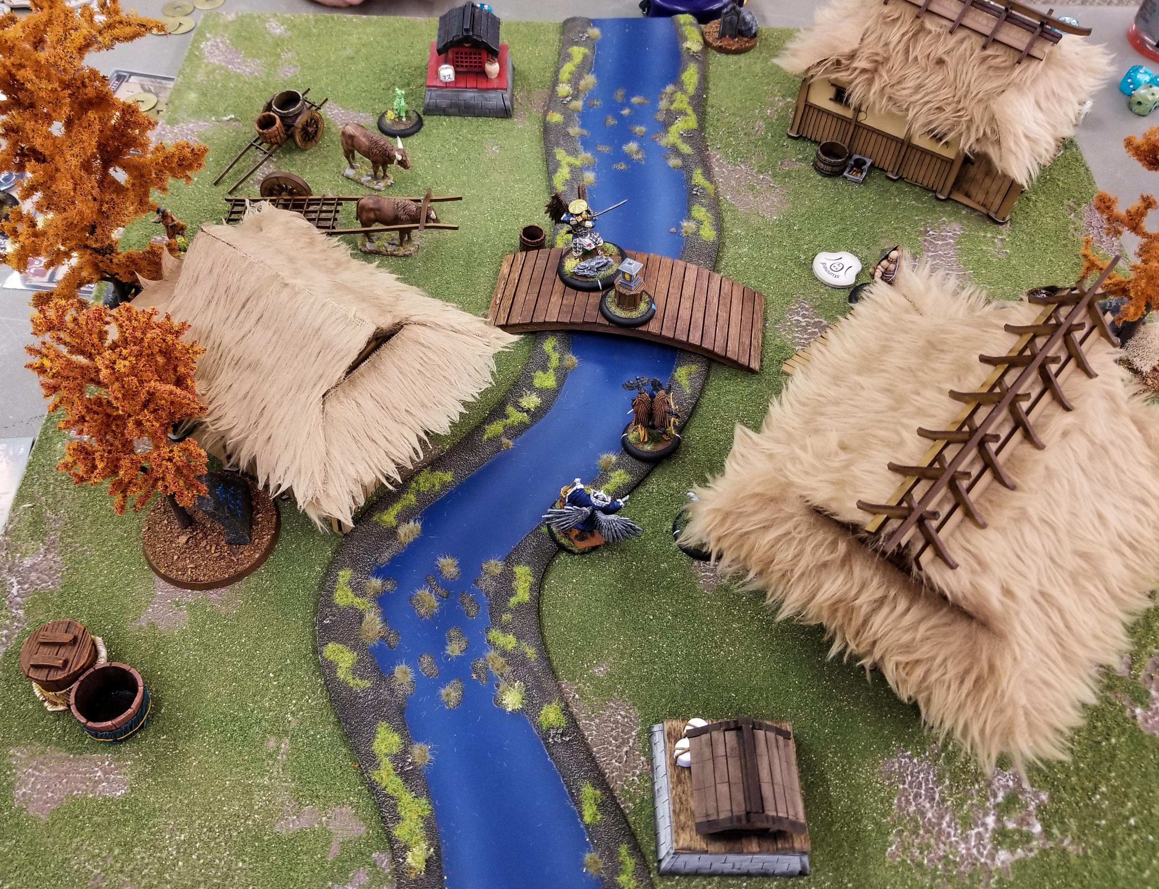 Battle Report, Bushido, Temple, Tengu