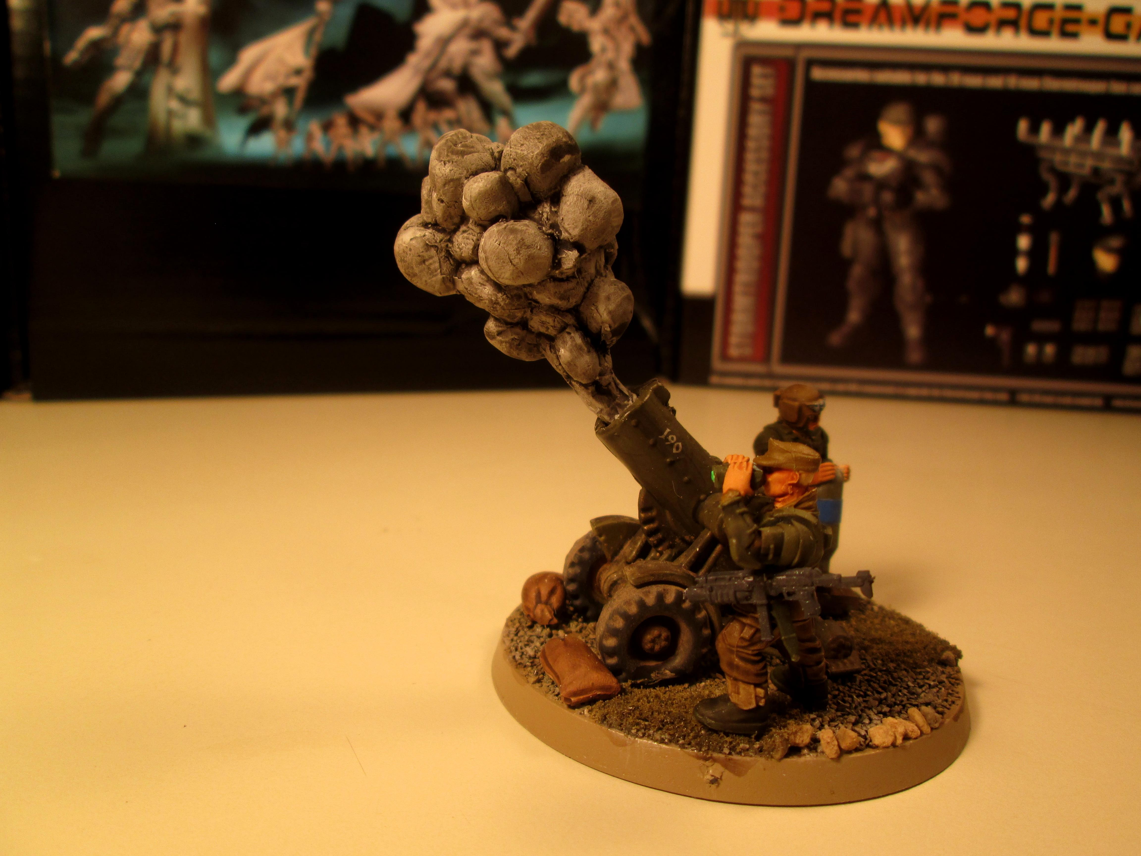Artillery, Gun 3, Imperial Guard, Mortar