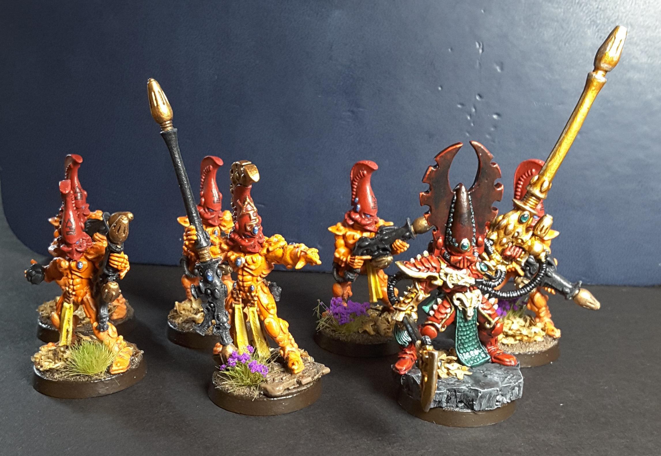 Aspect Warrior, Eldar, Fire Dragon, Fuegan