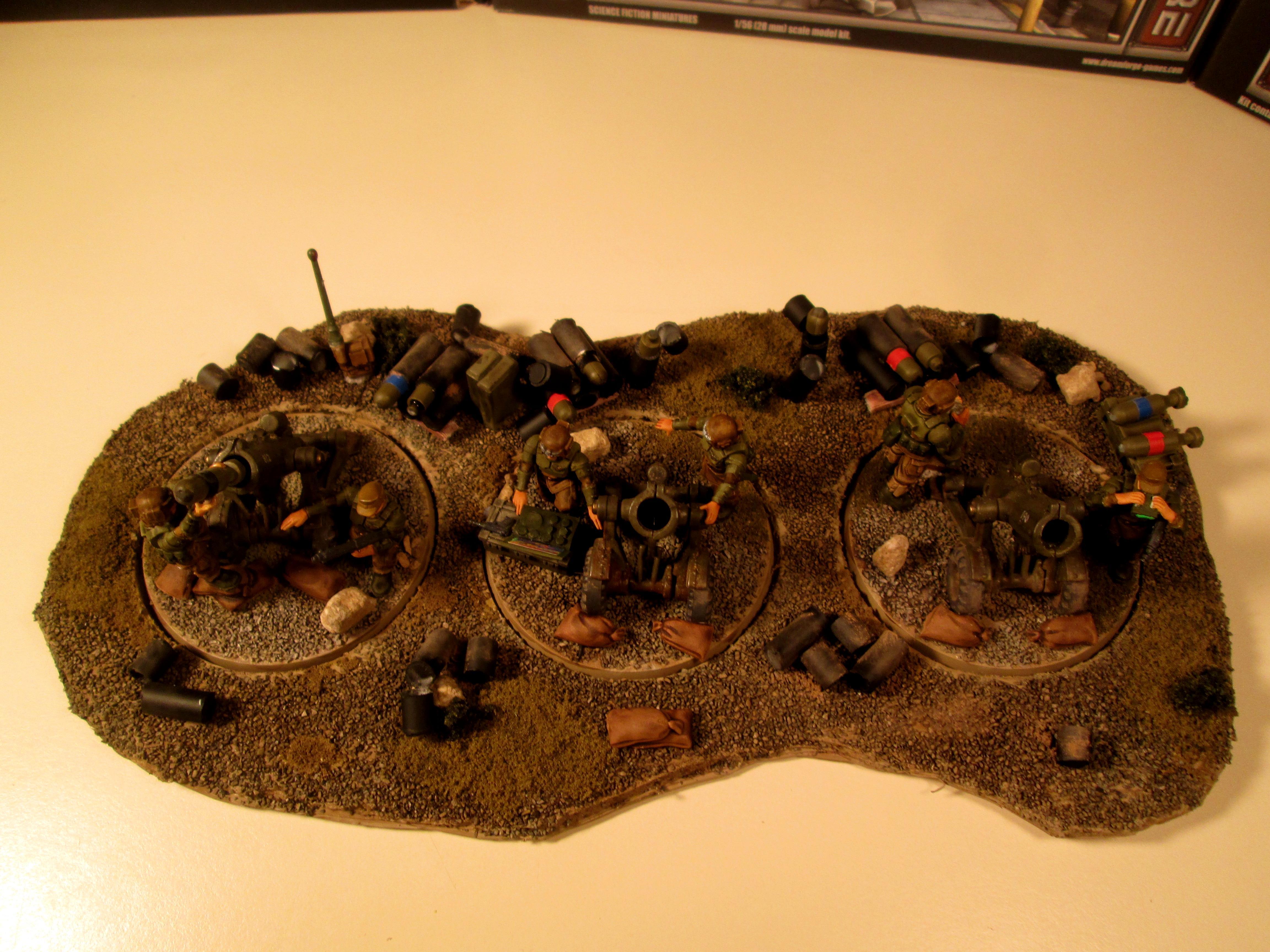 Artillery, Gunline, Imperial Guard, Mortar