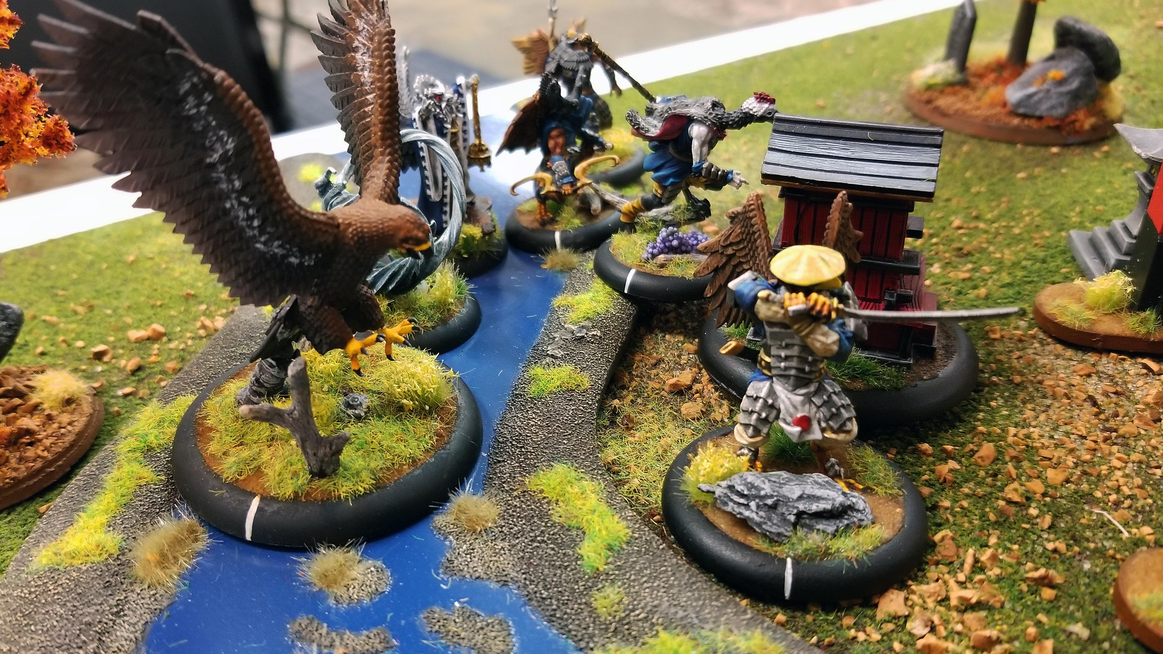 Battle Report, Bushido, Temple Of Ro-kan, Tengu
