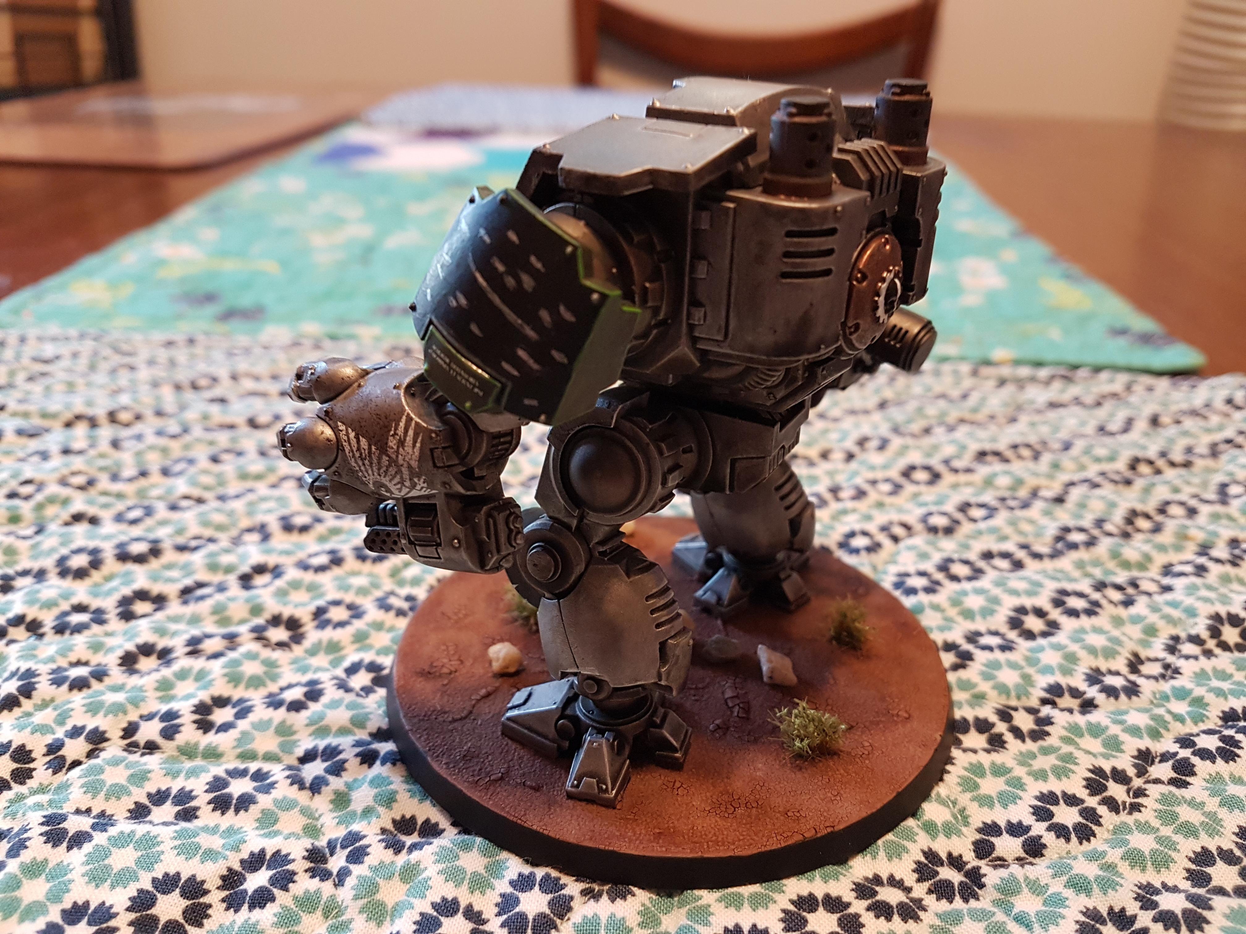 Black, Doom, Doom Legion, Dreadnought, Green, Heavy Flammer, Heavy Onslaught Catling Cannon, Iron, Legion, Metal, Primaris, Redemptor, Redemptor Dreadnought, Redmptor Fist, Silver, Space Marines
