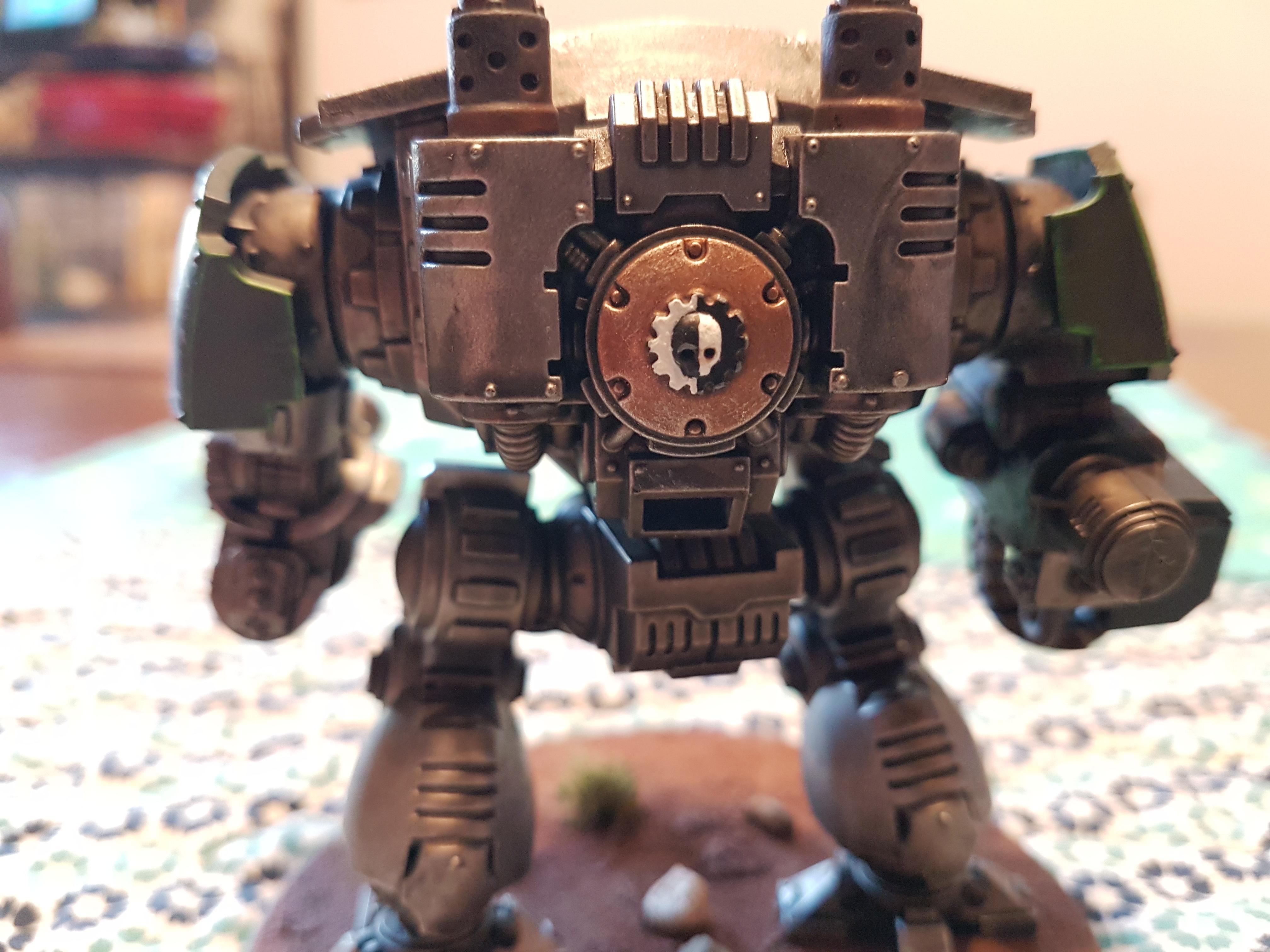 Black, Doom, Doom Legion, Dreadnought, Green, Heavy Flammer, Heavy Onslaught Catling Cannon, Iron, Legion, Metal, Primaris, Redemptor, Redemptor Dreadnought, Redmptor Fist, Silver, Space Marines