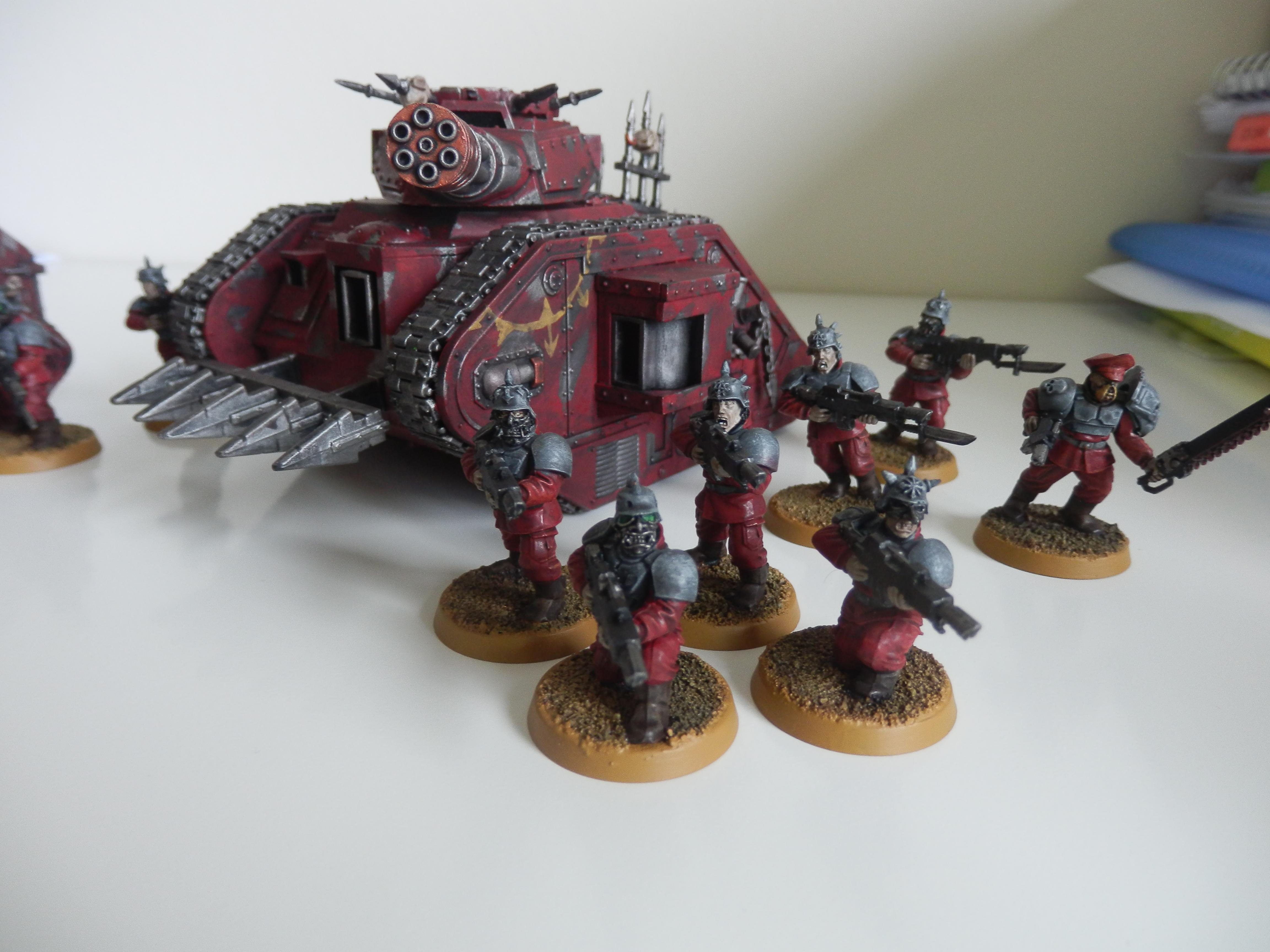 Army, Astra, Blood, Blood Pact, Guard, Hellhound, Khorne, Militarum, Pact, Tank, Troopers