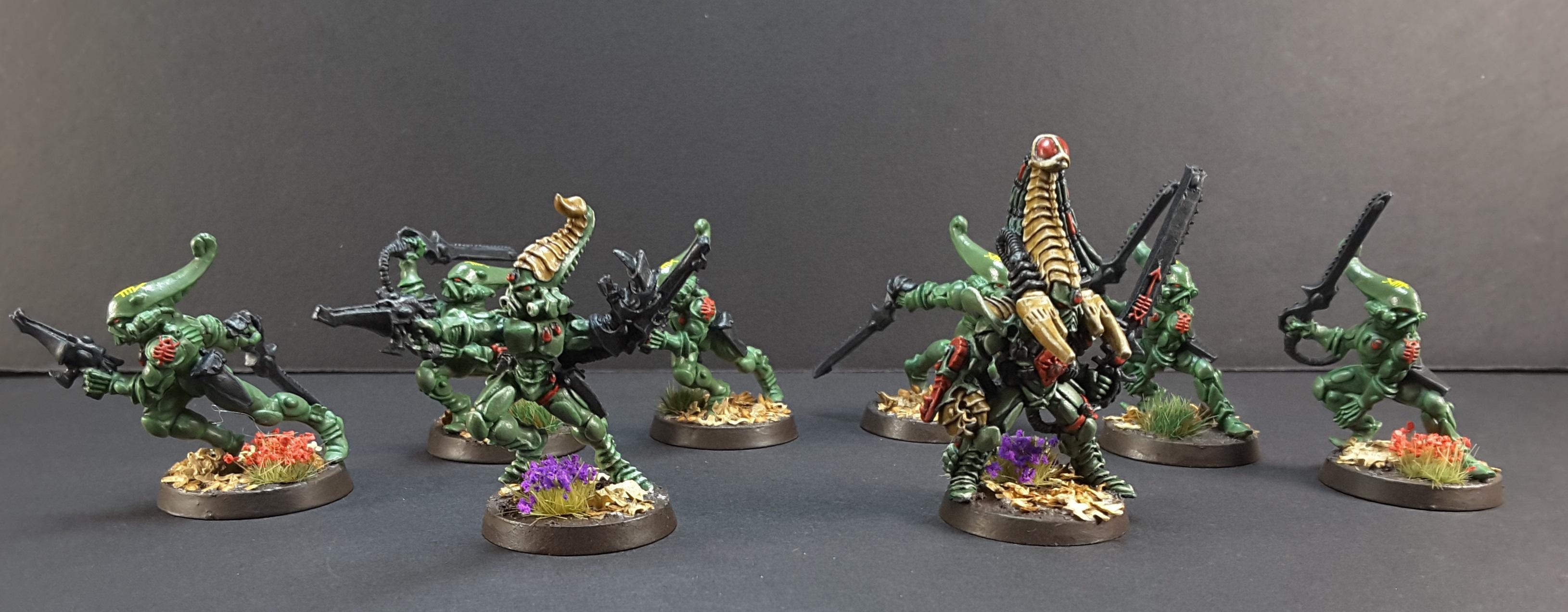 Aspect Warrior, Eldar, Exarch, Karandras, Striking Scorpions
