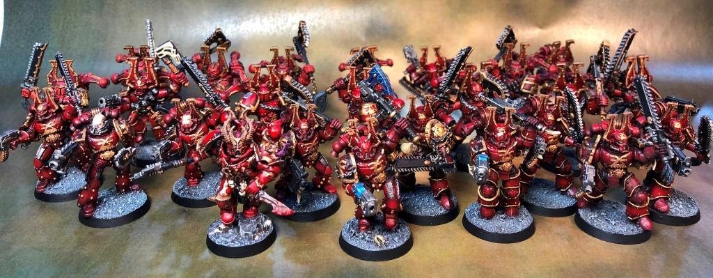 Berserkers, Khorne, Warhammer 40,000
