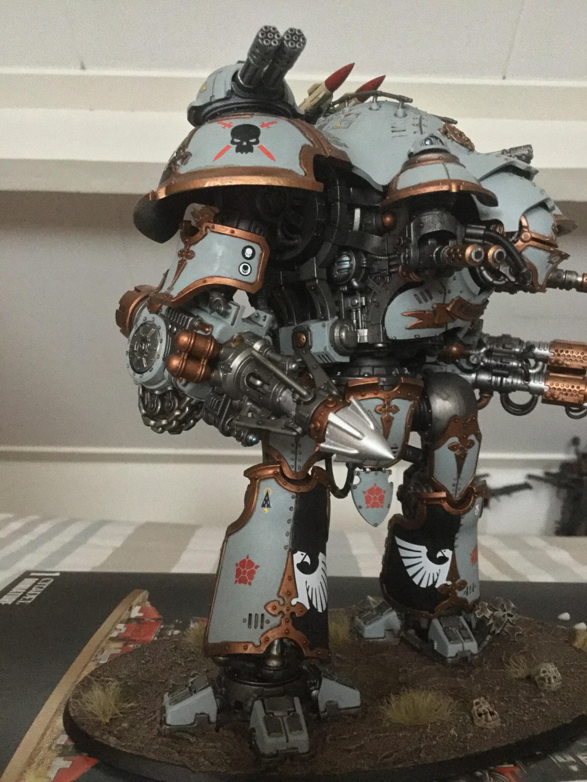 Dominus, Freeblade, Imperial Knight, Valiant, Warhammer 40,000