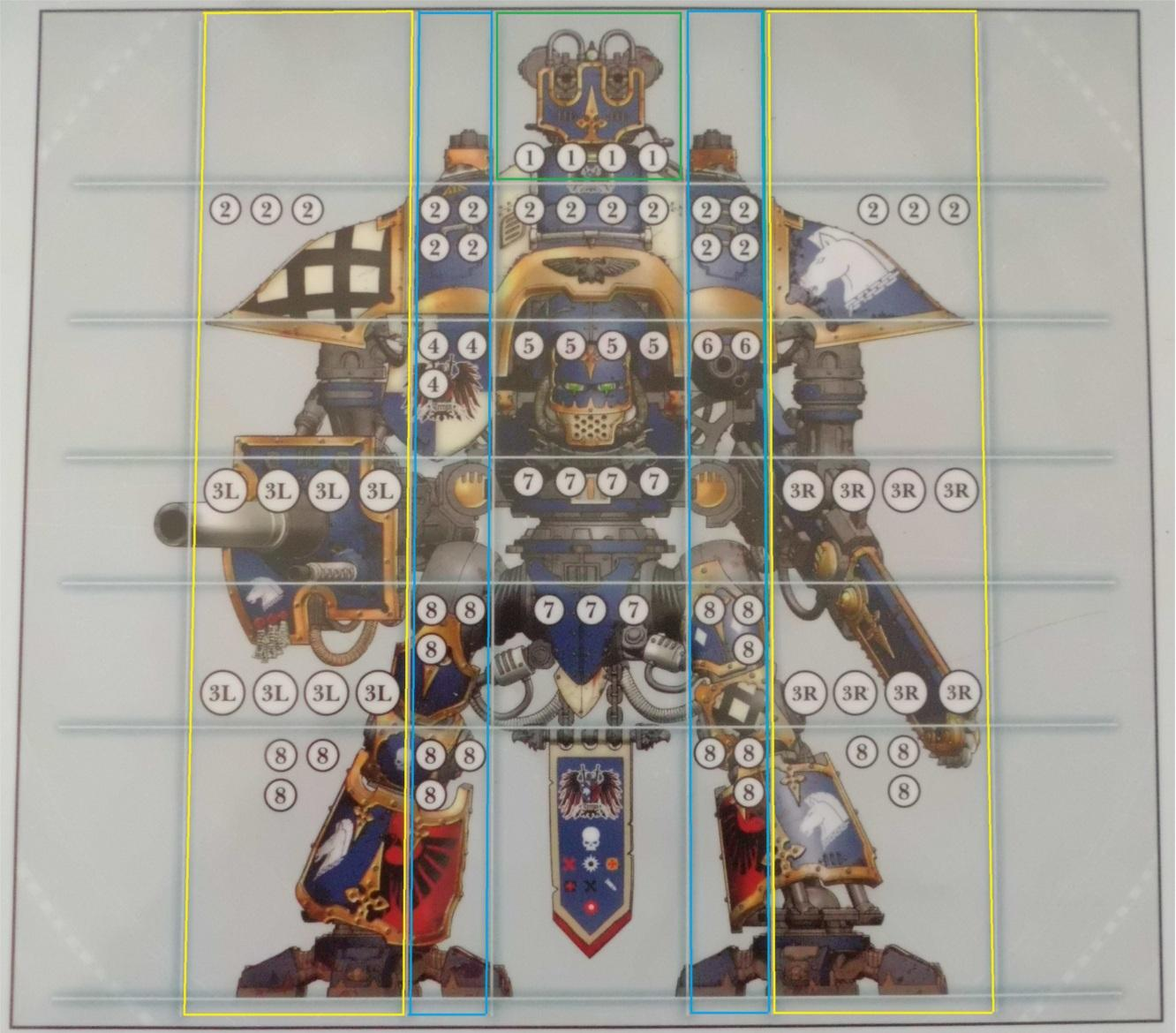 imperial knight weapon arc grid
