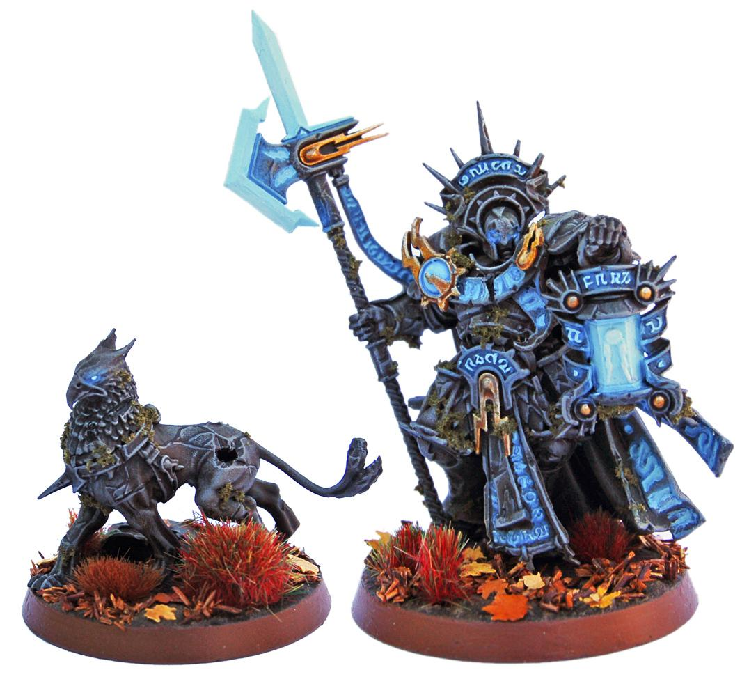 Age Of Sigmar, Castellant, Gryph Hound, Lord Castellant, Order, Stone, Stonecast, Stormcast, Stormcast Eternals