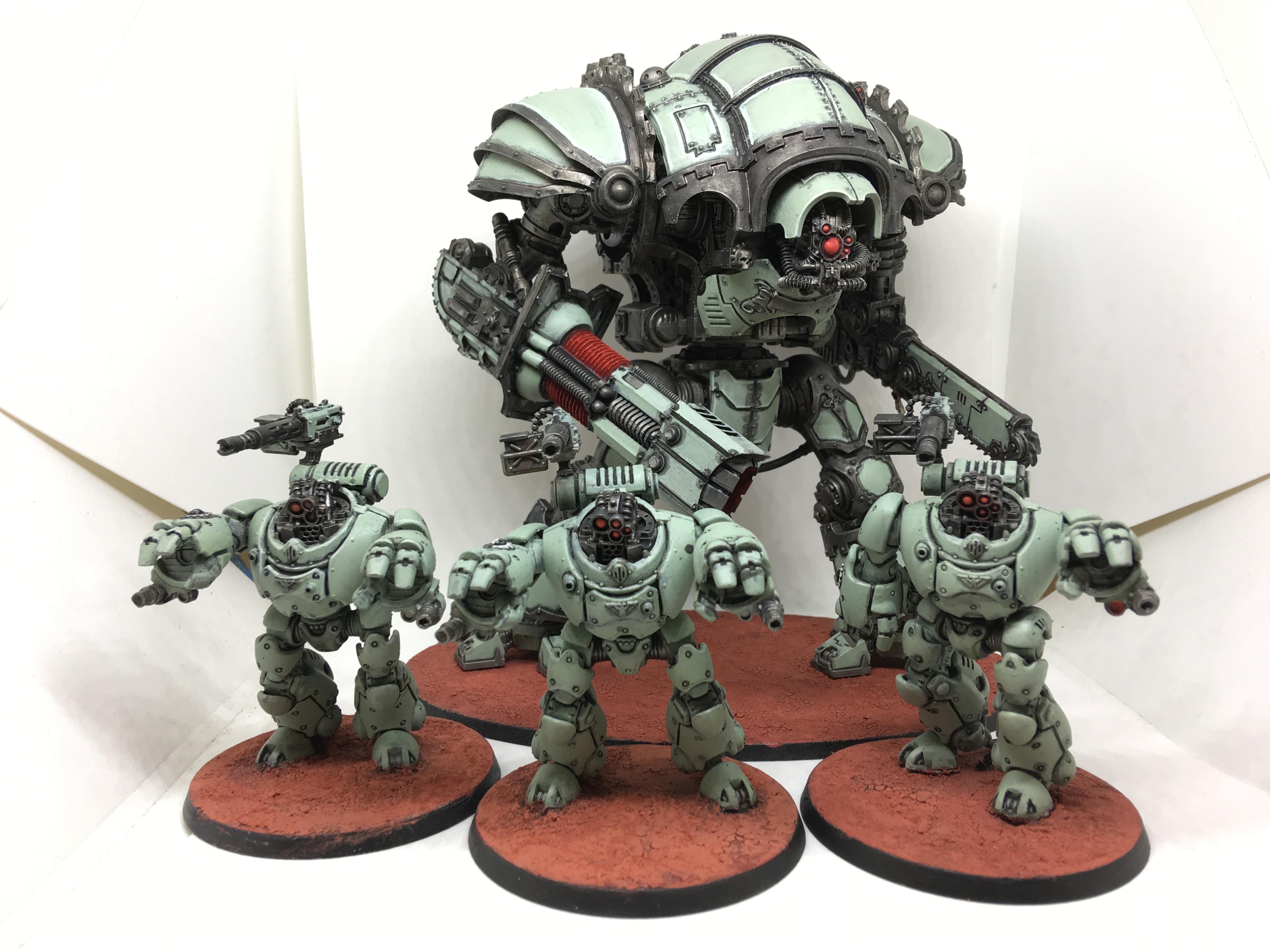 Imperial Knights, Knights, Magaera, Mechanicus, Styrix, Warhammer 40,000
