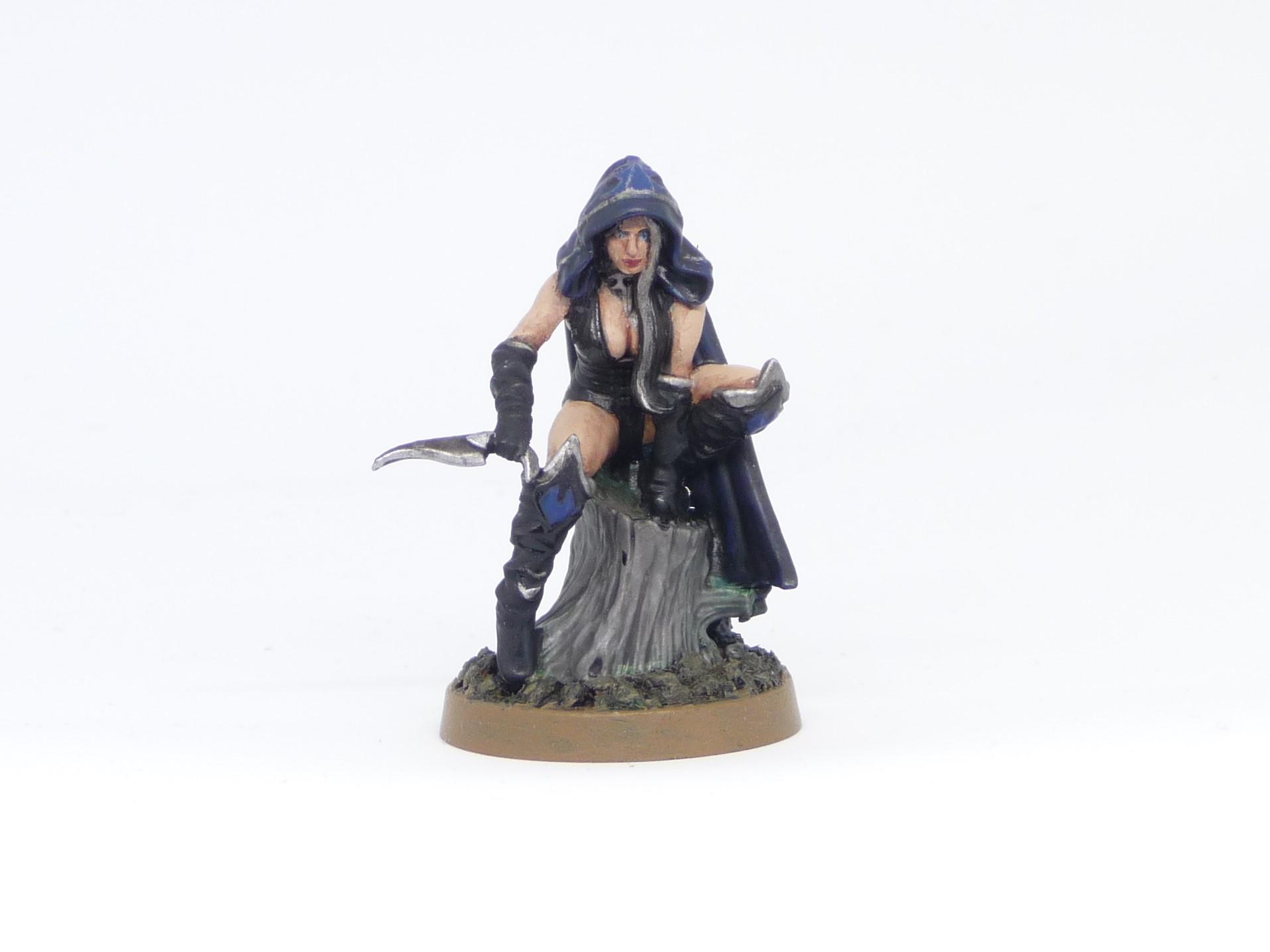 Assassin, Blood Bowl, Dark Elves, Greebo, Hokran Hearteater, Valentina