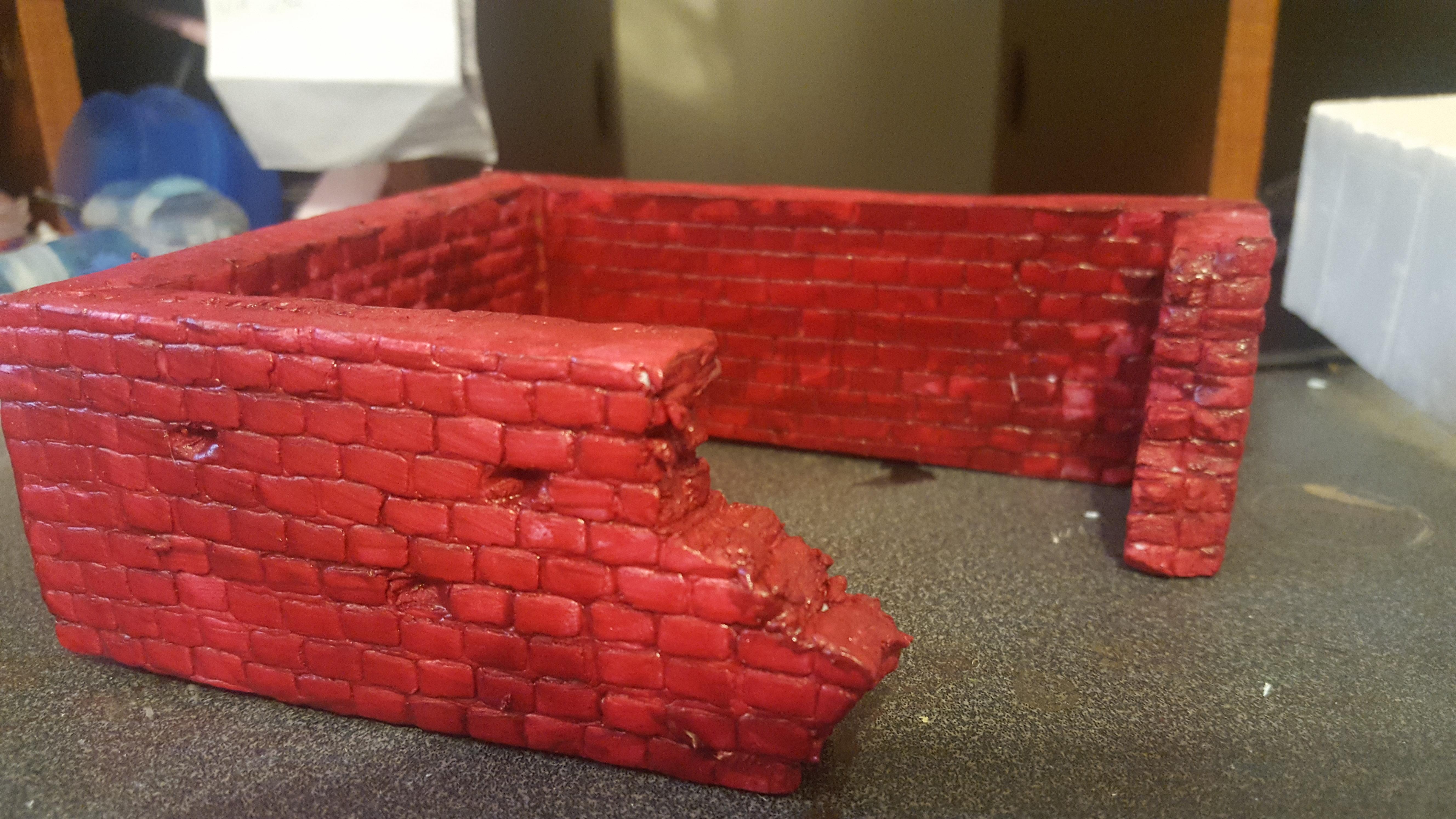 Mordheim, Ruins, Scratch Build, Terrain