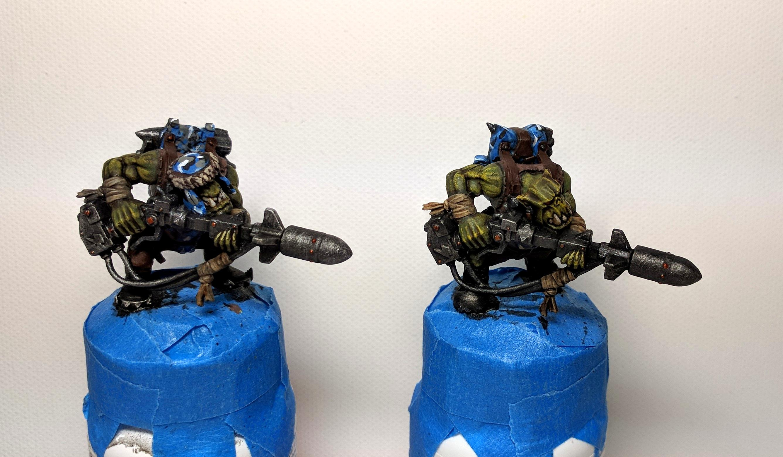 Camouflage, Kommando, Kommandoes, Orks, Rokkits, Work In Progress