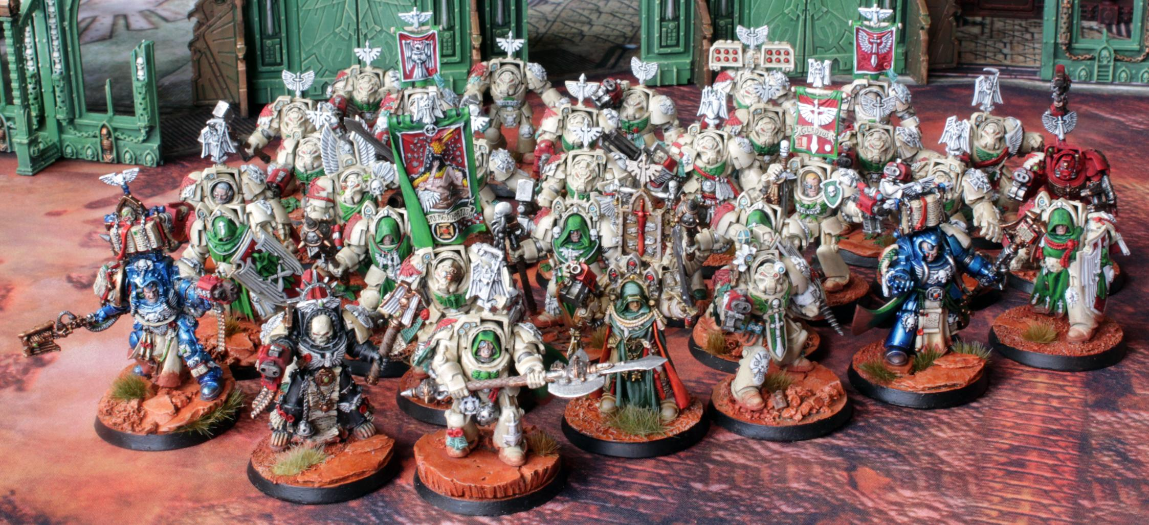 Ancient, Apothicary, Archivist, Belial, Champion, Chaplain, Dark Angels, Deathwing, First Company, Imperium, Inner Circle, Space Marines, Techmarine, Terminator Armor