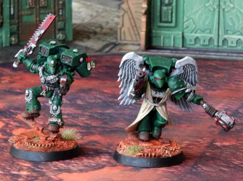 Dark Angels, Imperium, Space Marines, Vanguard