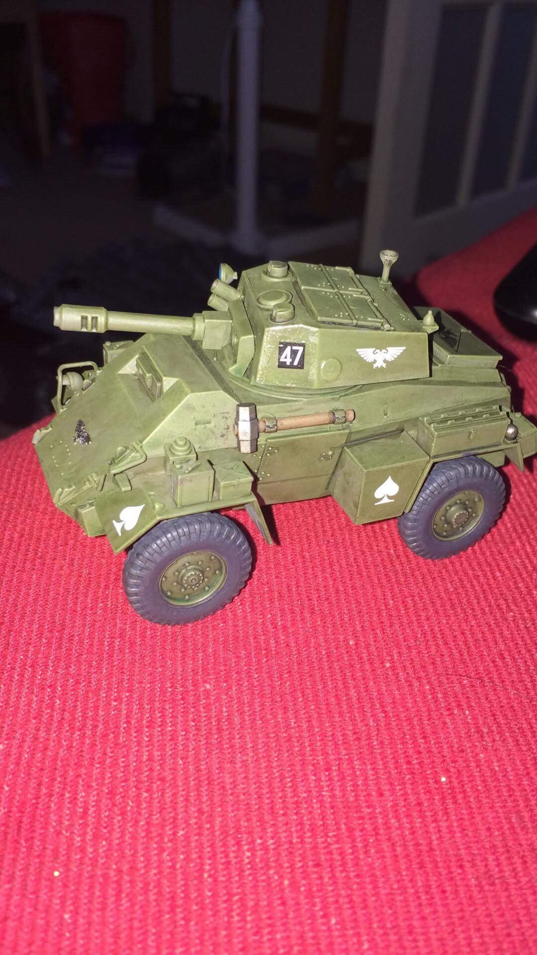 Armored Car, Astra Militarum, British, Cold War, Conversion, Counts As, Humber, Imperial, Imperial Guard, Scouts, Wheeled Vehicle, World War 2
