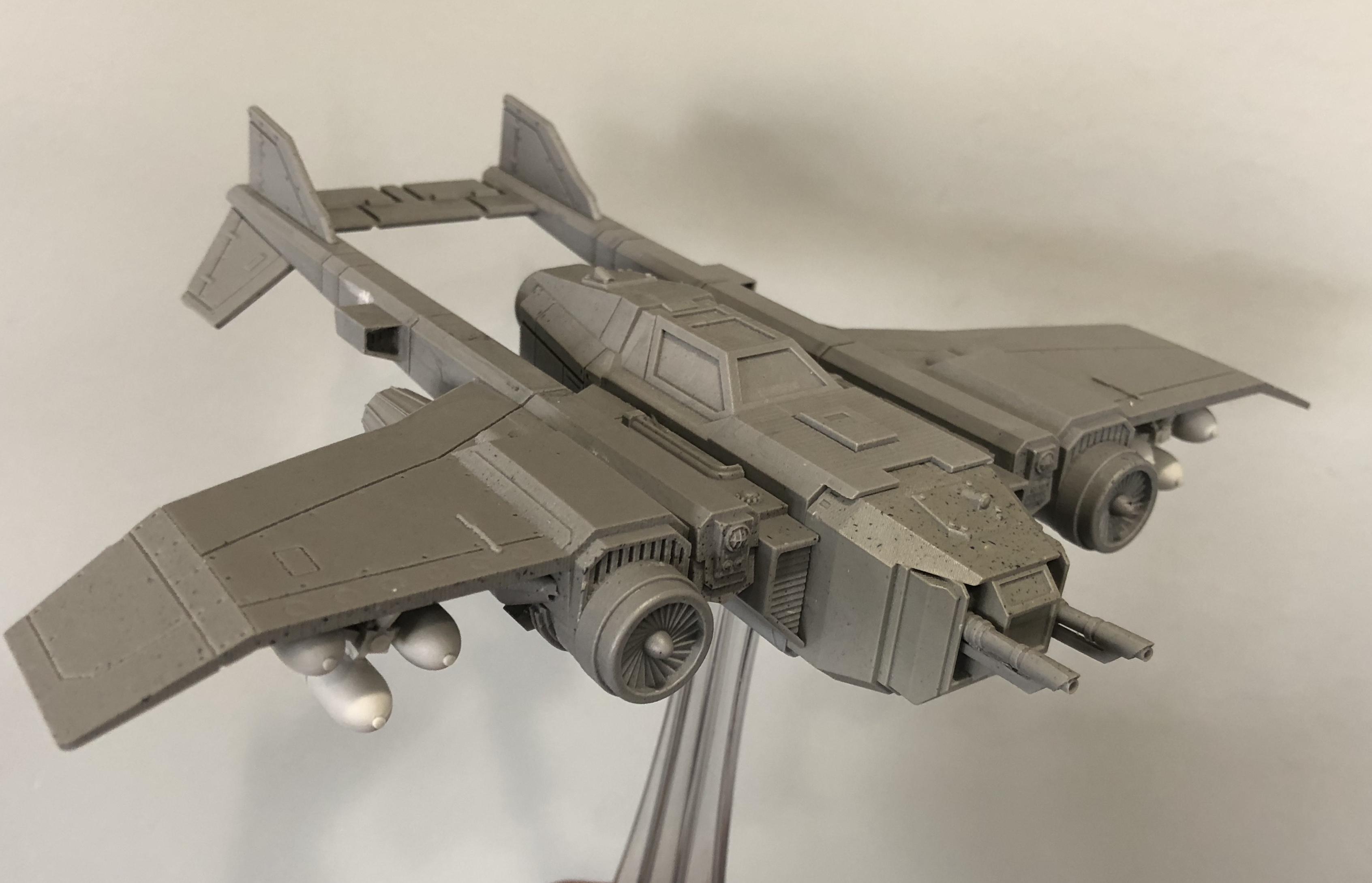 Conversion, Fighter, Thunderbolt, Tks, Tornado