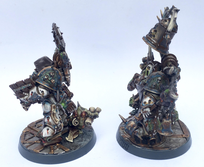 Blightbringer, Chaos, Chaos Space Marines, Death Guard, Noxious Blightbringer, Nurgle, Tallyman