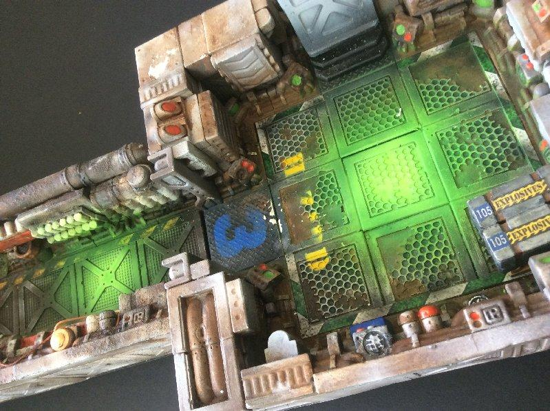 Battle, Board, Hulk, Spac, Terrain