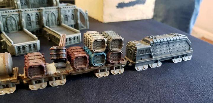 Adeptus Titanicus, Forge World, Train - Gallery - DakkaDakka