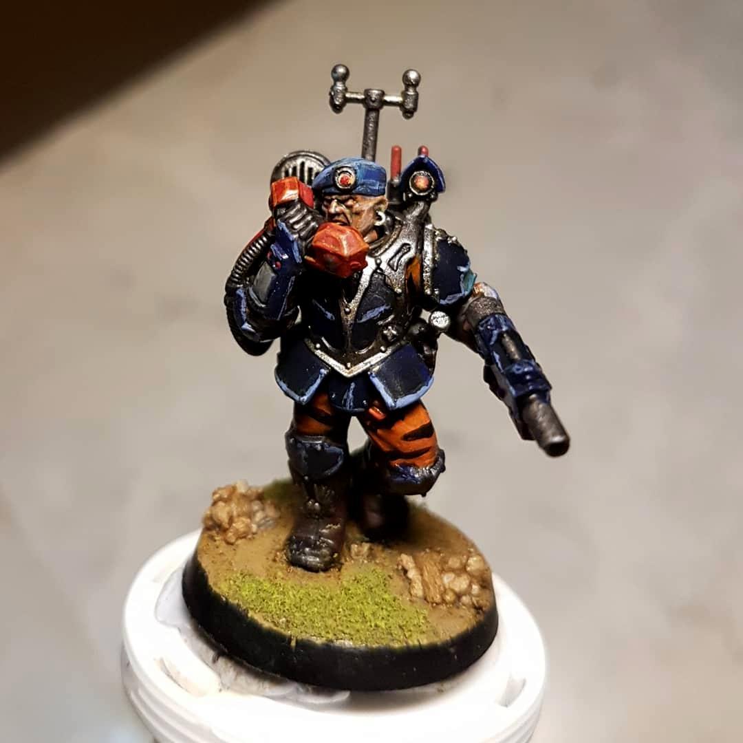 Guard, Imperial, Imperial Guard, Scion, Voxcaster