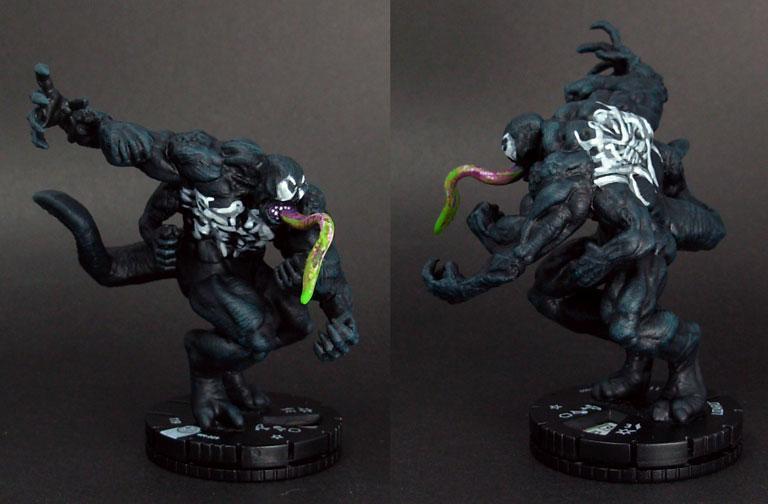 Heroclix, Lizard, Venom