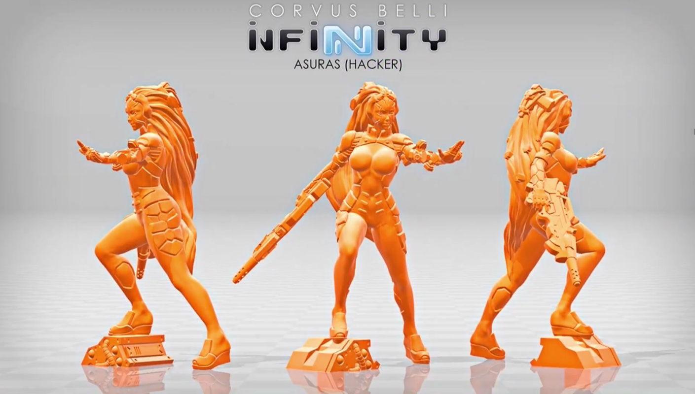 Aleph, Asuras, Infinity