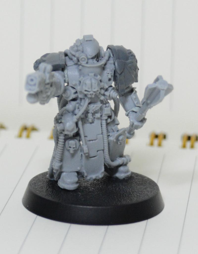 Is It Legal For A Techmarine To Have Hand Flamer Because This