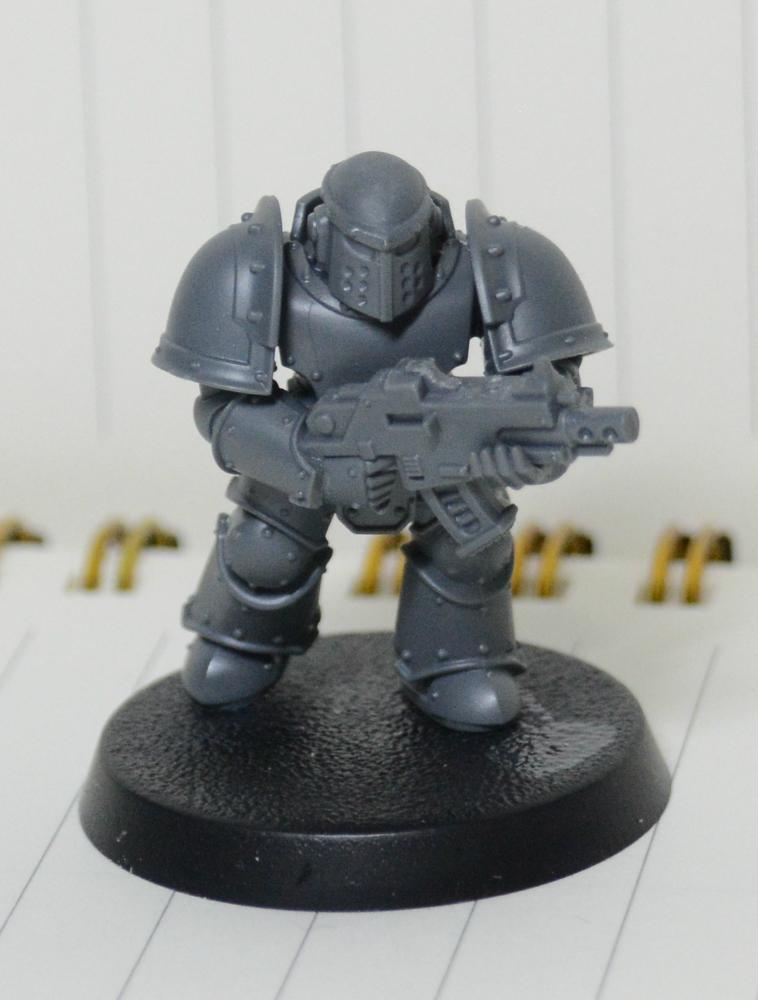 Assault, Black, Black Templars, Blanche, Chainsword, Conversion, Forge World, Imperium, Space Marines, Tactical Squad, Templars, Terminator Armor
