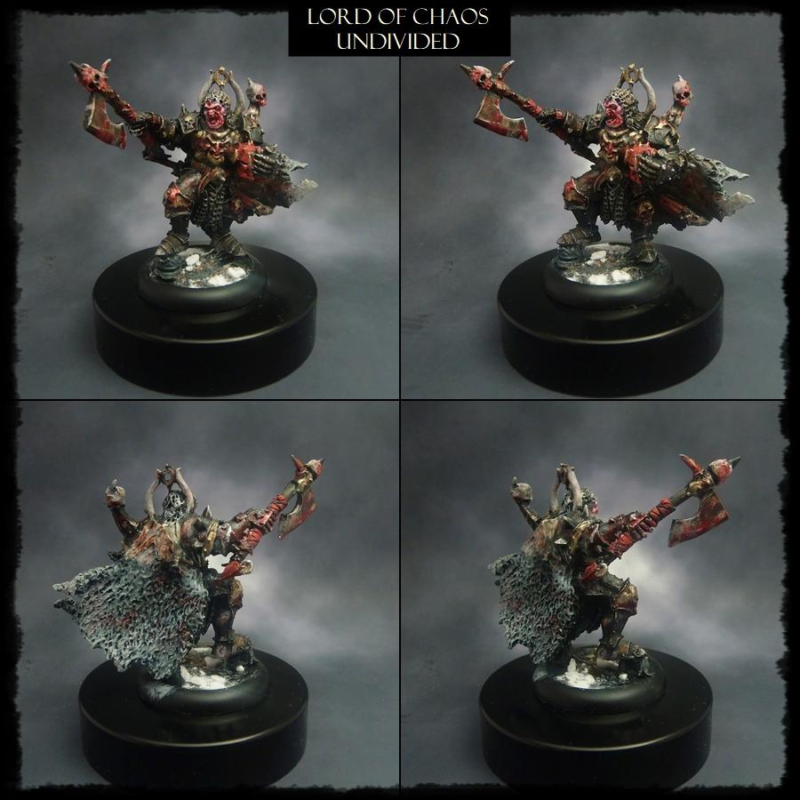 Age Of Sigmar, Alternate Model, Avatars Of War, Chaos Lord, Third Party, Undivided, Warhammer Fantasy