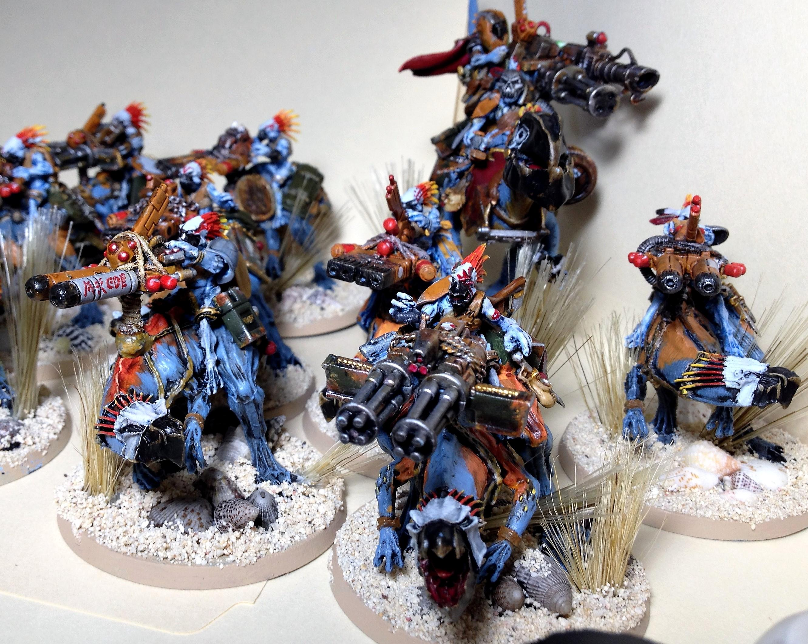 Cavalry, Conversion, Greater Knarloc, Heavy, Knarloc, Kroot, Kroot Hound, Stampede, Weapon