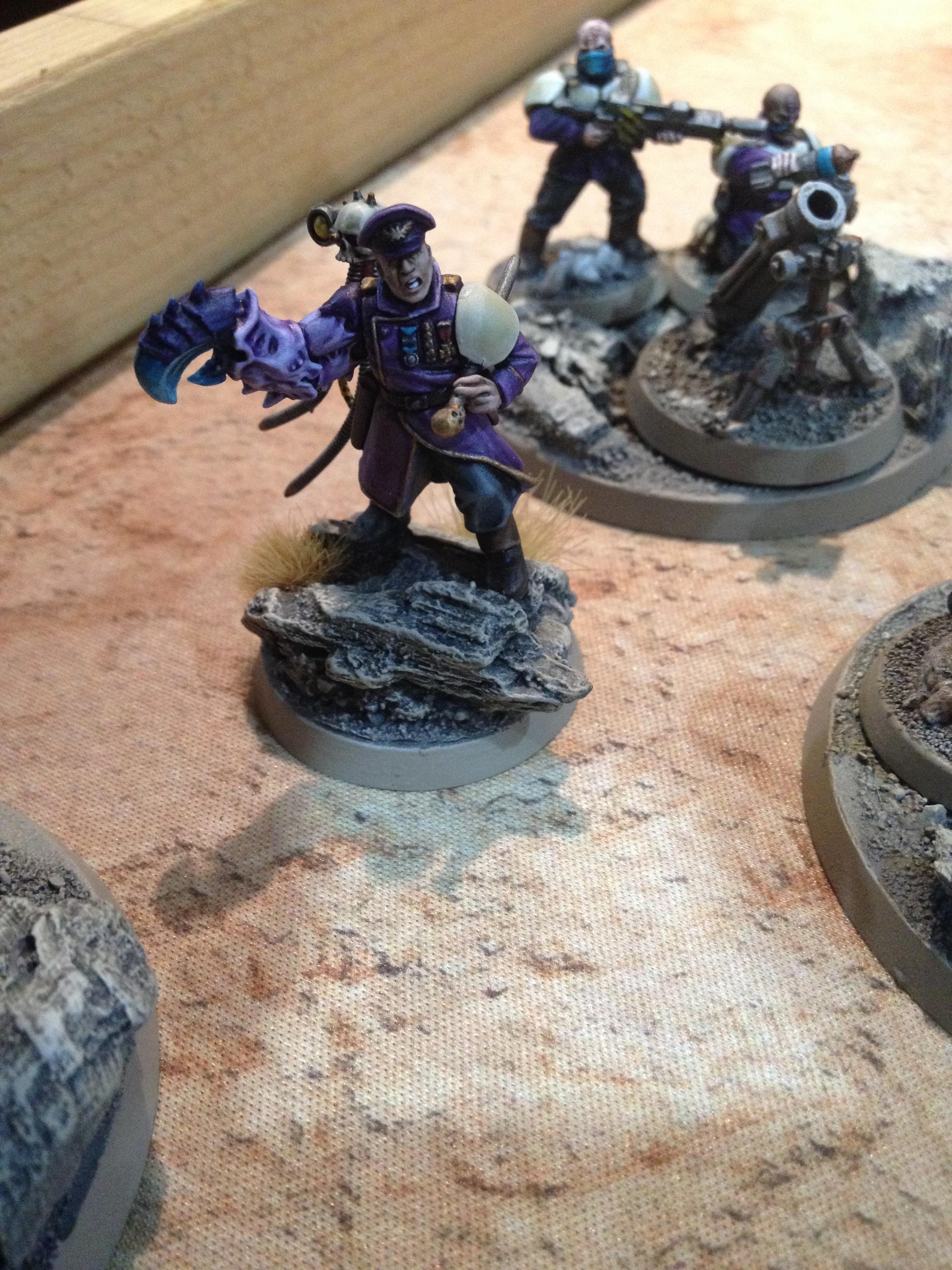Brood Brothers, Company Commander, Genestealer, Genestealer Cult, Gsc, Warhammer 40,000, Weathered