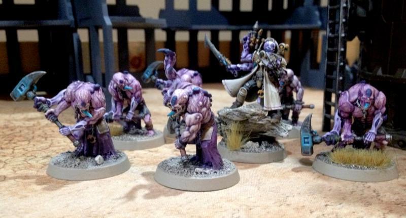 Abberant, Brood Brothers, Genestealer, Genestealer Cult, Gsc, Primus, Warhammer 40,000, Weathered